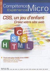 Competence Micro ; Css, Un Jeu D'Enfants - Intérieur - Format classique