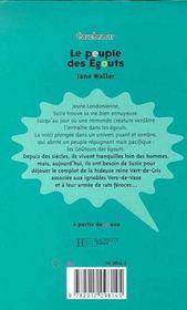 Le Peuple Des Egouts - 4ème de couverture - Format classique