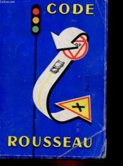 Code Rousseau - Couverture - Format classique