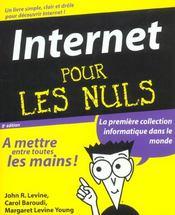 Internet Pour Les Nuls ; 8e Edition - Intérieur - Format classique
