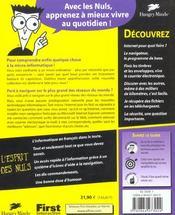 Internet Pour Les Nuls ; 8e Edition - 4ème de couverture - Format classique