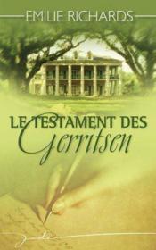 Le testament des Gerritsen - Couverture - Format classique