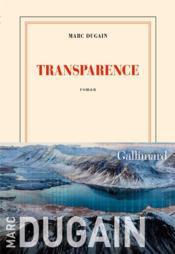 Transparence - Couverture - Format classique