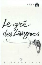 Gre Des Langues N 9 - Couverture - Format classique