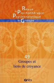 Groupes et liens de croyance - Intérieur - Format classique