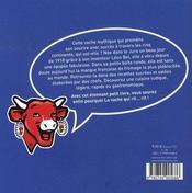 La Vache qui rit ; sa vie, ses recettes - 4ème de couverture - Format classique