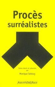 Procès surréalistes - Intérieur - Format classique