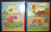 Albums à colorier : En Gascogne + En Normandie (Non coloriés) - Couverture - Format classique