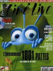 Cine Live - N° 21 - L'Evenement 1001 Pattes - Couverture - Format classique