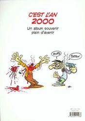 C'Est L'An 2000 - 4ème de couverture - Format classique