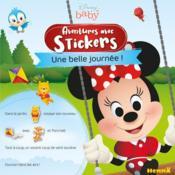 Disney baby aventures avec stickers - une belle journee ! - Couverture - Format classique