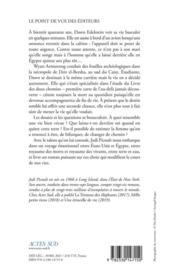 Le livre des deux chemins - 4ème de couverture - Format classique