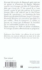 Julie De Bonne Esperance - 4ème de couverture - Format classique