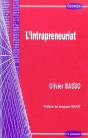 L'intrapreneuriat - Intérieur - Format classique