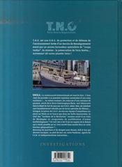 T.N.O t.2 ; ebola - 4ème de couverture - Format classique