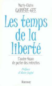 Les temps de la liberte - Intérieur - Format classique