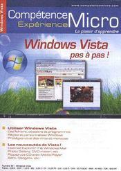 Competence Micro ; Windows Vista Pas A Pas - Intérieur - Format classique