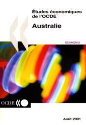 Etudes economiques de l'ocde australie 2000/2001 volume 2001-14 - Couverture - Format classique