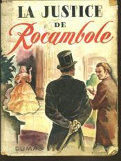 La Justice De Rocambole - Couverture - Format classique
