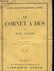 Le Cornet A Des - Couverture - Format classique