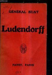 Ludendorff. - Couverture - Format classique