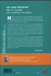 Les ruses éducatives - 4ème de couverture - Format classique