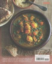 Vegetarian Tagines And Couscous - 65 Delicious Recipes For Authentic Moroccan Food - 4ème de couverture - Format classique