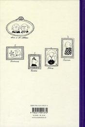 Les aventures de la famille Mellops - 4ème de couverture - Format classique