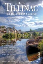 Le bonheur en Corrèze - Couverture - Format classique