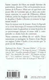 Jeanne D'Arc ; Et Dieu Donnera La Victoire T.1 - 4ème de couverture - Format classique