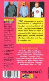 Moby De A A Z - 4ème de couverture - Format classique