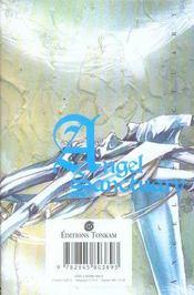 Angel sanctuary t.8 - 4ème de couverture - Format classique