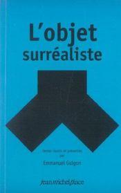 L'objet surréaliste - Intérieur - Format classique