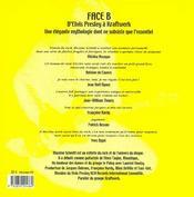 Face b - 4ème de couverture - Format classique