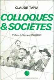 Colloques et sociétés - Couverture - Format classique