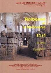 Carte Archeologique De La Gaule T.11/1 ; Narbonne Et Le Narbonnais - Couverture - Format classique