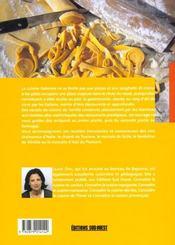 Cuisine italienne (la)/connaitre - 4ème de couverture - Format classique