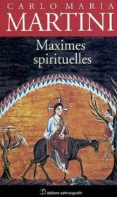 Maximes spirituelles - Couverture - Format classique