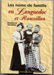 Languedoc Noms De Famille - Couverture - Format classique