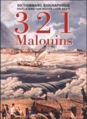 321 malouins - Couverture - Format classique