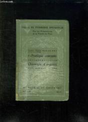 Pratique Courante Et Chirurgie D Urgence. - Couverture - Format classique