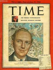 Time, Vol. Xlvii, N° 23, June 10, 1946, Atlantic Overseas Edition - Couverture - Format classique