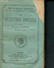 La question sociale - Couverture - Format classique