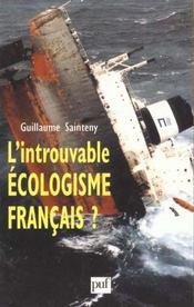 L'introuvable écologisme français ? - Intérieur - Format classique