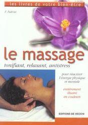 Massage (Le) - Intérieur - Format classique