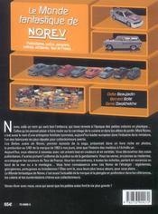 Le monde fantastique de Norev - 4ème de couverture - Format classique