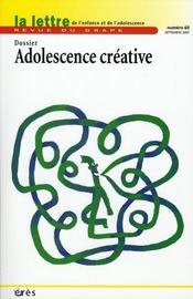 Adolescence créative - Intérieur - Format classique