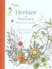 Herbier de Provence ; itinéraire d'une aquarelliste - Intérieur - Format classique