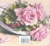 Carnets Du Jardin - Le Roman Des Roses - 4ème de couverture - Format classique