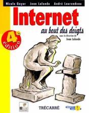 Internet Au Bout Des Doigts 4eme Edition - Couverture - Format classique